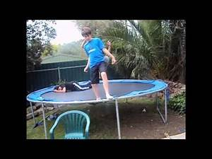 Awesome Extreme Trampoline Wrestling / Tables Ladder And Chairs (TLC) / Hardcore Match / AXTW