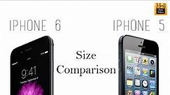 iPhone 6 vs iPhone 5/5s (Size Comparison)​​​ | H2TechVideos​​​