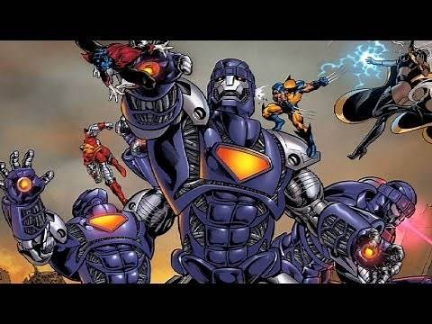 Supervillain Origins: The Sentinels and Bolivar Trask