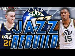 NBA 2K17 MY LEAGUE: REBUILDING THE UTAH JAZZ!!! WORST RECORD TO BEST RECORD!!!