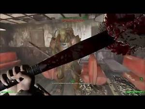 Modded Fallout 4 Melee More