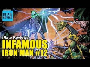Infamous Iron Man #12 (Marvel NOW 2.0) || iRate Reviews