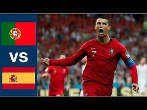 Portugal vs Spain All Goals and Highlights Full Match