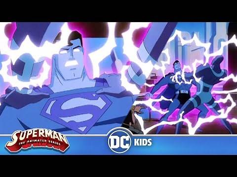 Superman: The Animated Series   Parasite Zapps Superman's Powers   @DC Kids