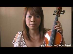 Dear Angel # 1 Violin Questions