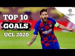 TOP 10 GOALS UCL 2020 | Movie Football Cinematic [HD] Messi, Mbappe, Suarez
