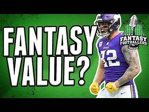 Is Kyle Rudolph an Underrated Fantasy Football TE in 2018?