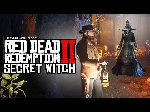 Red Dead Redemption 2 - Witch Easter Egg! (Red Dead Redemption 2 Witch House)