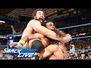 New Day vs. Rusev & English vs. Gable & Benjamin - Winner Faces Usos: SmackDown LIVE, Dec. 26, 2017