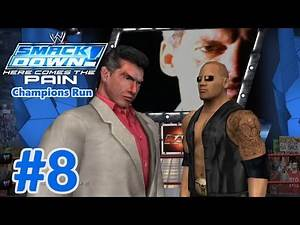 WWE SmackDown! Here Comes the Pain: Season Mode (Raw Champions Run) Part 8