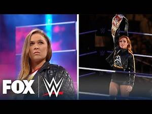Who will replace Becky Lynch, Ronda Rousey atop WWE Women's Division?   WWE BACKSTAGE   WWE ON FOX
