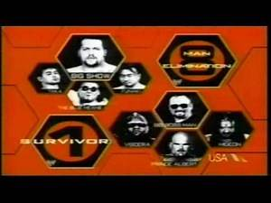 WWF Survivor Series 1999 Matchcard