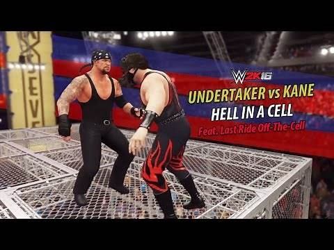 WWE 2K16 - Undertaker vs Kane | Hell In A Cell Match | PS4 Gameplay
