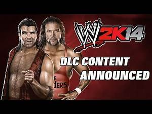 WWE2K14 DLC Content Announced - nWo The Outsiders, Rick Rude, Jake Roberts & many more!