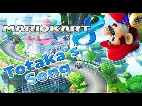 Mario Kart 8 Totaka's Song Secret