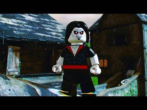 LEGO Marvel Super Heroes 2 Morbius Unlock Location Free Roam Gameplay
