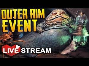 Star Wars Battlefront: Outer Rim Free Weekend Event! | Live Stream