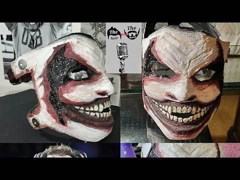 "How To Make WWE Bray Wyatt ""The Fiend"" Mask DIY"