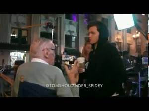 Spider-Man: Homecoming   Stan Lee meets Tom Holland