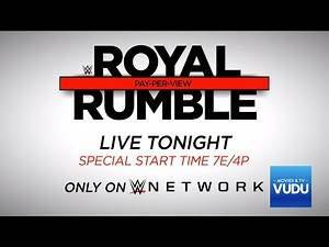 WWE Royal Rumble 2017: Kevin Owens vs. Roman Reigns - Live tonight on WWE Network