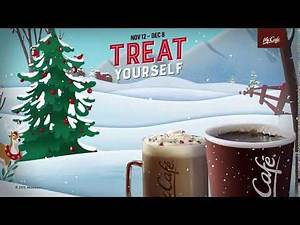 McCafé | It's the holiday season. Treat yourself.