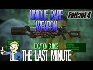 Fallout 4 | The Last Minute | Unique Rare Weapon | Location Guide