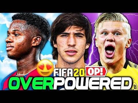 THE BEST OVERPOWERED WONDERKIDS CHALLENGE!!! FIFA 20 Career Mode