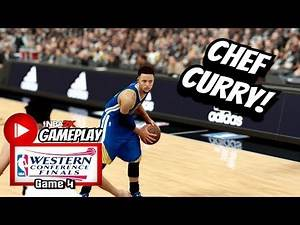 Stephen Curry Full Highlights vs Spurs (2017 Playoffs WCF Game 4) Sweep! 12-0! NBA 2K17