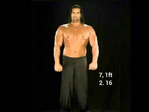 TOP 5 TALLEST WWE SUPERSTARS IN HISTORY