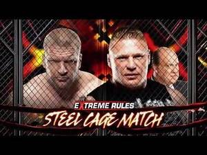 Extreme Rules 2013 Full Match Card