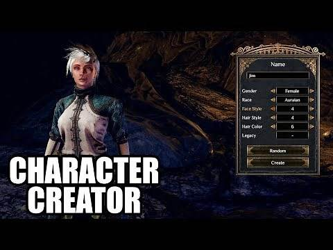 OUTWARD - Character Creation / Male and Female