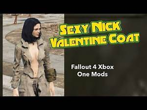 Sexy Nick Valentine Coat Fallout 4 Xbox One Mods