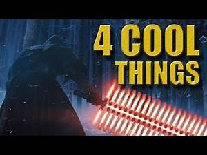 Star Wars: Force Awakens Trailer - 4 COOL Things!