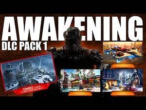 """COD Black Ops 3 """"AWAKENING"""" DLC #1! - New Black Ops 3 Zombies and Multiplayer Maps Revealed!"""