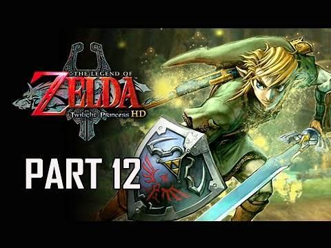 The Legend of Zelda Twilight Princess HD Walkthrough Part 12 - Bomb Bag & Hylian Shield (Hero Mode)
