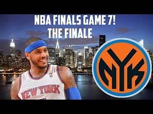 NBA 2K15 My GM Mode - New York Knicks   NBA Finals Game 7   CHAMPIONSHIP?