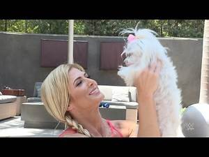 What is Torrie Wilson's dog Chloe up to: Where Are They Now? Extra