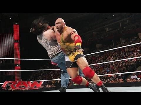 Ryback vs. Luke Harper: Raw, February 2, 2015