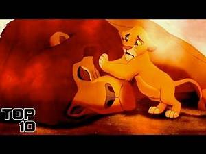 Top 10 Dark Moments In Kids Movies That Came Out Of Nowhere