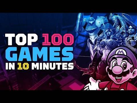 IGN s Top 100 Games of All Time in 10 Minutes