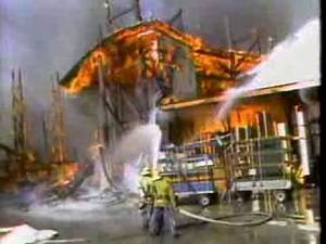 Paramount Studios August 25, 1983 Fire News Coverage