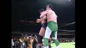 17 years later this is still the sickest suplex I have seen. Mitsuharu Misawa giving Kenta Kobashi a
