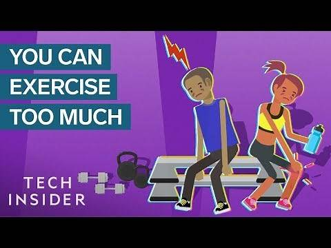 What Too Much Exercise Does To Your Body And Brain