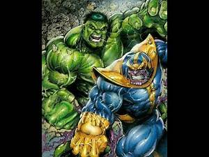 World Breaker Hulk vs. Thanos