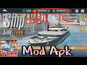Ship Sim 2019 Latest v 1.1.4 Mod Apk (Unlimited Coins & Credits) Free Download In Android