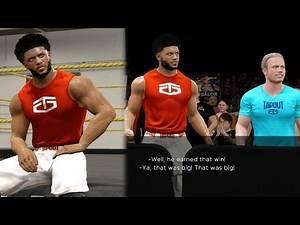 WWE 2k17 MyCAREER - Best Future WWE Champion Marcus Gento Creation! Training Session at NXT! Ep. 1