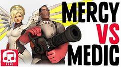 MERCY VS MEDIC RAP BATTLE by JT Music