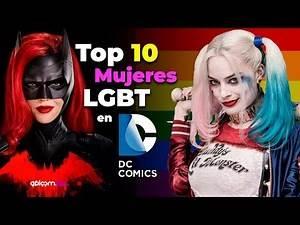 Top 10 DC comics mujeres lgbt en español (LGBT DC Comics)
