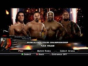 WWE SmackDown vs. Raw 2009 - Chavo Guerrero & Great Khali vs. Shelton Benjamin & Big Daddy V