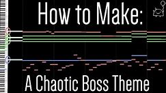 How To: Make a Chaotic Boss Battle Theme in 5 Minutes (+ Full Song at the End) || Shady Cicada